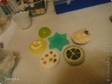 Половинка шарика, смайлик, марципанка, лайм, пироженка, снежинка.