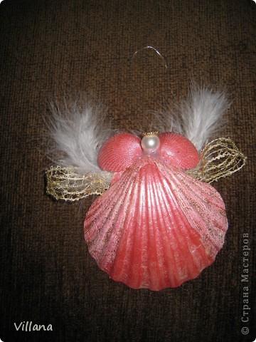 Ангелочки из ракушек фото 2