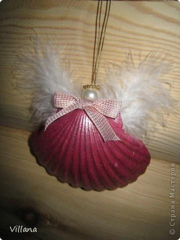 Ангелочки из ракушек фото 4