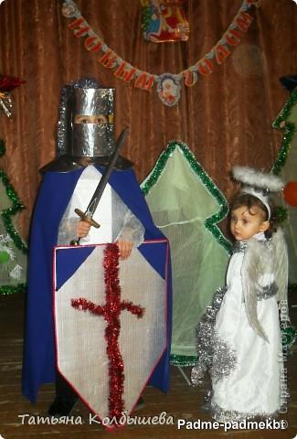 """Карнавальные костюмы """"Ангел и рыцарь"""" фото 1"""