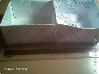 """Эту шкатулку-макет я сделала когда увидела работу ~ЛЮБОВЬ ВОЛОГДА~ """"переносной ящик для рукоделия"""" http://stranamasterov.ru/node/57743?c=favorite Я конечно немного изменила внешне, но принцеп тот-же. Потом я буду делать её настоящию( большую) и в этот-же блог вставлю. фото 25"""