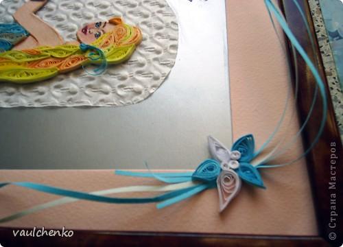 Пака на каникулах - сделала дочке подарочек ко дню рождения. Очень ей понравилась картинка из интернета, по ее мотивам и получилась моя работа. фото 4