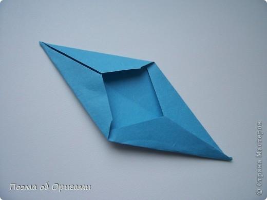 Эта башня составлена из одинаковых блоков и может быть логически продолжена до бесконечности: включать сколько угодно подобных секций и уровней. Поэтому эта модель отлично подходит для коллективной работы в коллективе. Модель этой симпатичной девушки носит имя НОА-чан и со времени со своего рождения даже успела стать символом Японской Ассоциации Оригами. фото 34