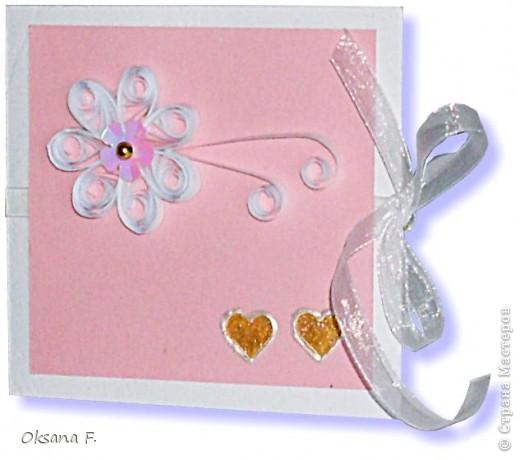 Этот пост посвящается приглашениям на свадьбу.  Сделала несколько вариантов на выбор заказчика... фото 6