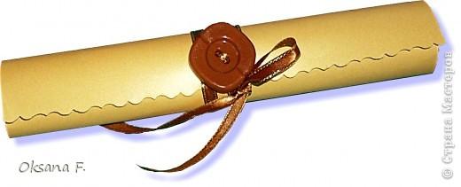 Этот пост посвящается приглашениям на свадьбу.  Сделала несколько вариантов на выбор заказчика... фото 7