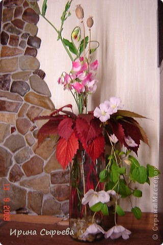 Цветы и камень