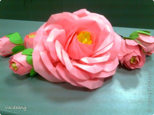 Цветы в оригами фото 31