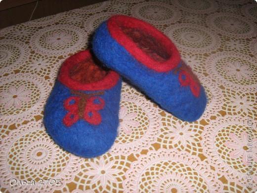 Тапульки для дочки
