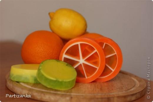 апельсиновые и лимонные мылки фото 1