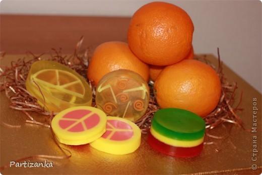 апельсиновые и лимонные мылки фото 2