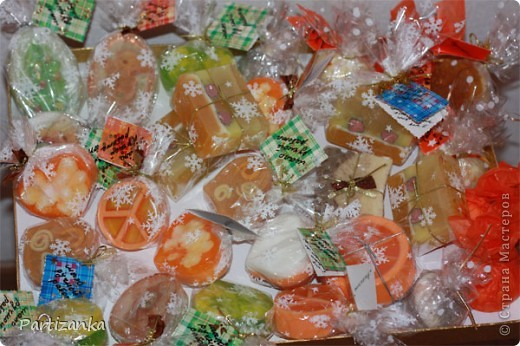 апельсиновые и лимонные мылки фото 5