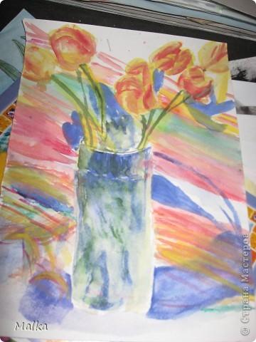 Гуашь, бумага (11 лет) фото 2