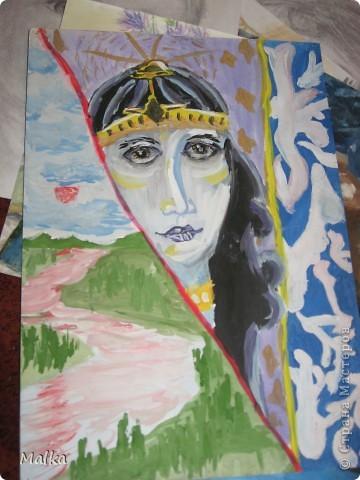 Гуашь, бумага (11 лет) фото 5