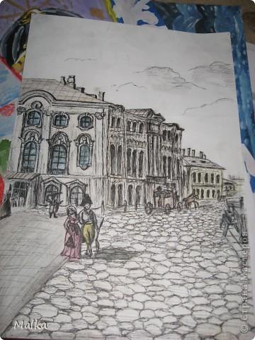 Гуашь, бумага (11 лет) фото 6