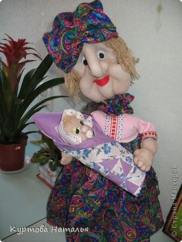 Это моя первая кукла. Не судите строго.