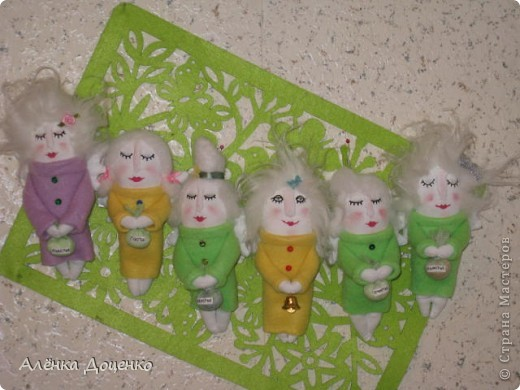 Ангельские тётушки))) в руках у них мешочки со счастьем  фото 1