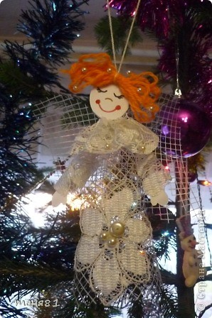 Ну все затянули меня ангелочки, не могу остановиться Наверное подарю их родным на Рождество. фото 7