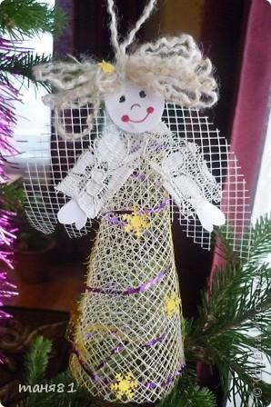 Ну все затянули меня ангелочки, не могу остановиться Наверное подарю их родным на Рождество. фото 6