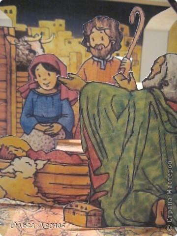 И у меня теперь есть рождественский вертеп, спасибо, Юляша и Владочка, http://stranamasterov.ru/node/123648. фото 3