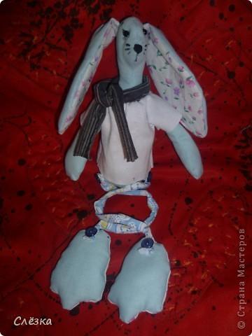Заяц в стиле тильда фото 1