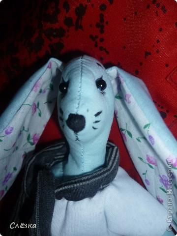 Заяц в стиле тильда фото 2