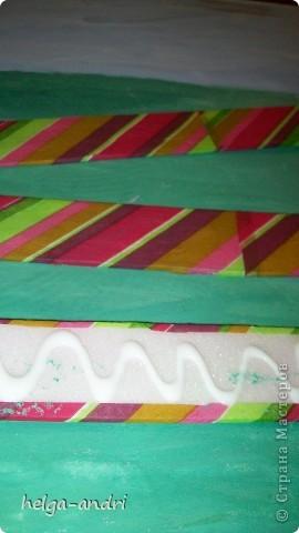 Рамка для картины из потолочной плитки. фото 4
