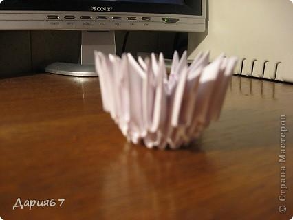 1. Гриб подосиновик.  2. Ножка подосиновика состоит примерно из 380 модулей.  Делаем первые 4 ряда состоящих из 15...
