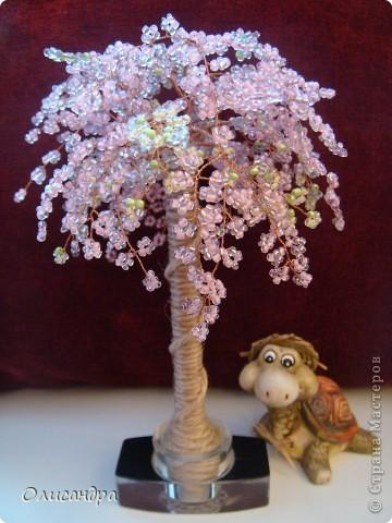 Не так давно обратила внимание на деревья из бисера...Мне казалось,что сделать это самой нереально...Но я люблю пробовать что-то новое, поэтому ,порывшись в интернете ,выбрала мастер-класс http://home-sweet.ru/archives/847,  о Стране Мастеров я тогда еще не знала... Решила делать сакуру... фото 1
