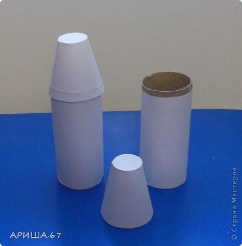 Поделка на день космонавтики из пластиковых бутылок