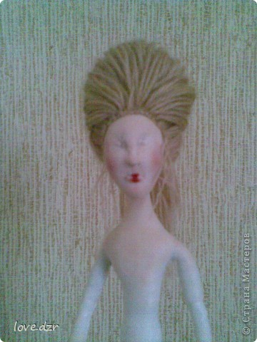 Моя мечта сбылась наконец-то я сделала свою авторскую куклу. фото 3