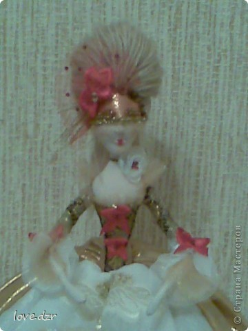 Моя мечта сбылась наконец-то я сделала свою авторскую куклу. фото 4