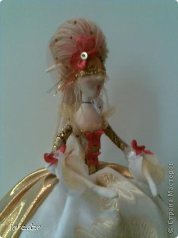 Моя мечта сбылась наконец-то я сделала свою авторскую куклу. фото 5