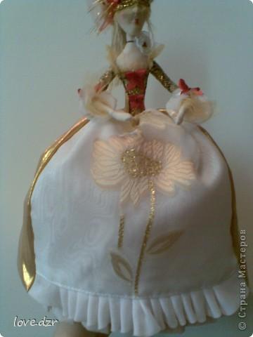 Моя мечта сбылась наконец-то я сделала свою авторскую куклу. фото 6