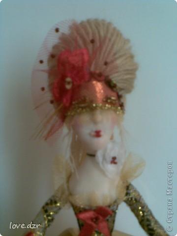 Моя мечта сбылась наконец-то я сделала свою авторскую куклу. фото 9