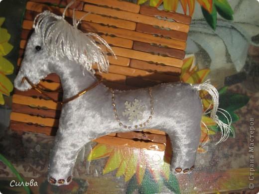 Сшила Рождественскую лошадку! фото 1