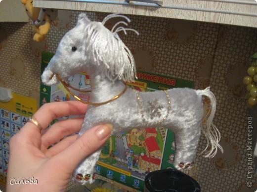 Сшила Рождественскую лошадку! фото 2