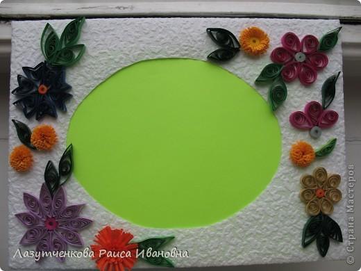 """Корзина с цветами. По книге Светланы Букиной """"Квиллинг: волшебство бумажных завитков"""" фото 3"""