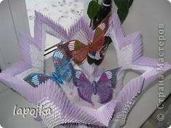 Ваза с бабочками фото 2