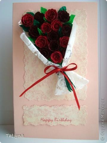 букет роз поближе фото 3