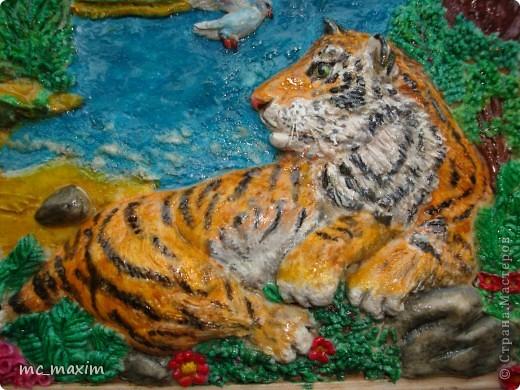 """Картина """"Тигр"""" фото 3"""
