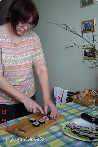 Японская кухня- роллы. фото 4