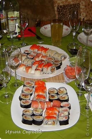 Японская кухня- роллы. фото 1