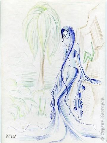 Мои рисунки - акварель, карандаш фото 3