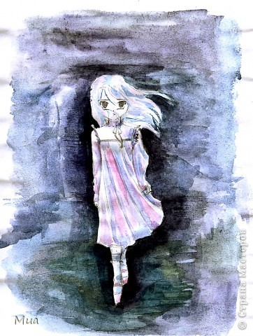 Мои рисунки - акварель, карандаш фото 5