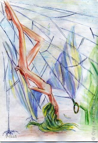 Мои рисунки - акварель, карандаш фото 4