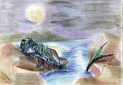 Мои рисунки - акварель, карандаш фото 1