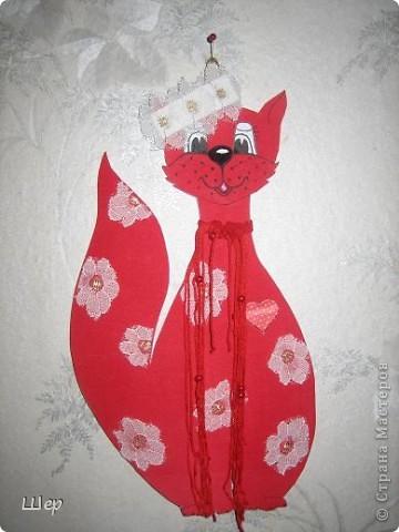 Ромашковая кошка - символ года