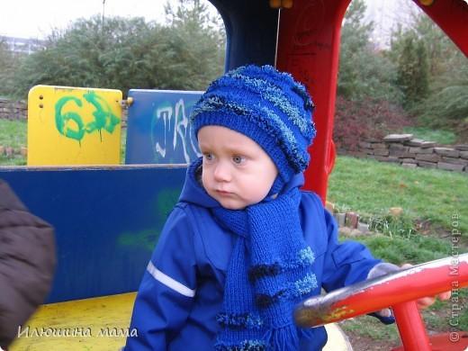 Шапочка и шарф фото 2