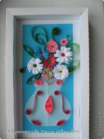 """Корзина с цветами. По книге Светланы Букиной """"Квиллинг: волшебство бумажных завитков"""" фото 18"""