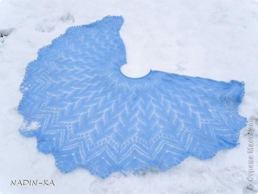 Накидка-шаль Хризантема